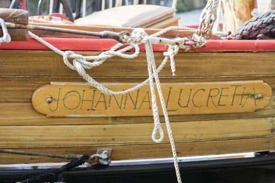 Johanna lucretia name plate