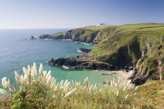 Cornish cliffs coast