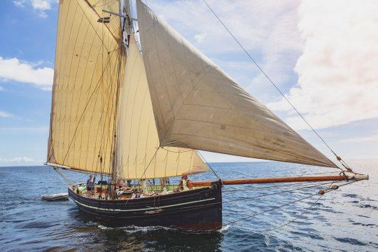 Agnes Sailing Cornwall