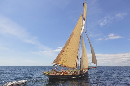 Agnes Sailing Fowey