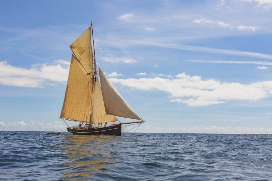 Agnes full Sailing Cornwall