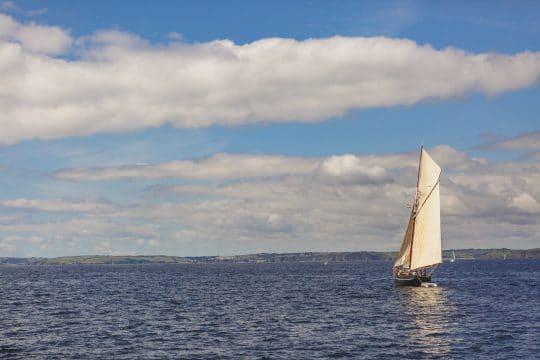 Agnes pilot-cutter cornwall sailing holiday
