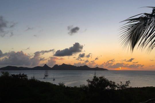 Blue Clipper Caribbean sunset