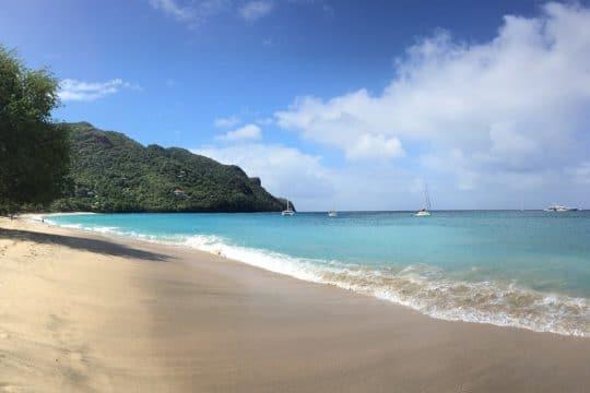 Blue Clipper Caribbean beach