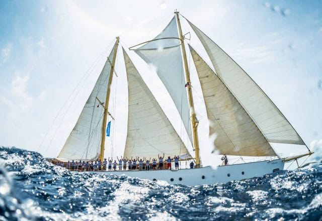 Expedition from Tenerife to the Caribbean