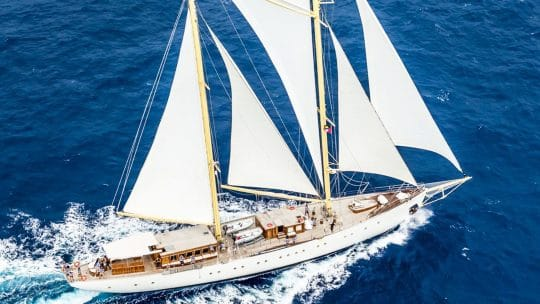 CHRONOS full sails