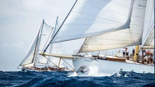 CHRONOS sailing