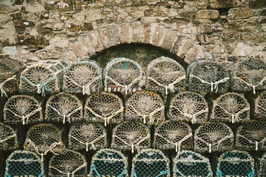 CORNWALL lobster pots