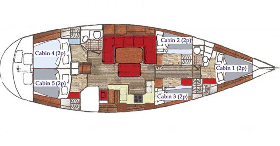Cherokee Deck Plan