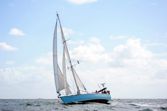 Cherokee sailing