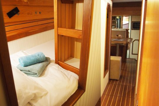 Circe Single berth