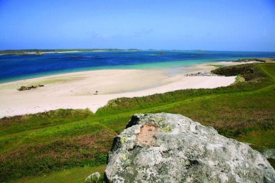 Coastline of the Isles of Scilly