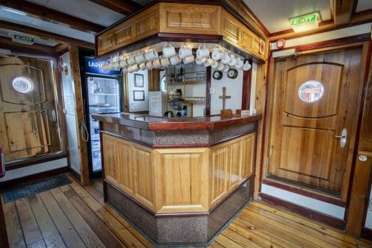 Linden bar on board