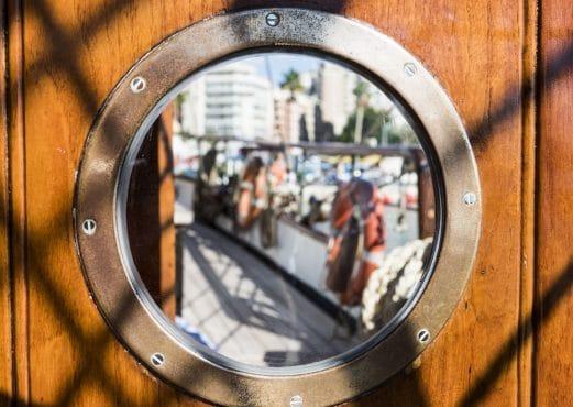 Eye of the Wind porthole