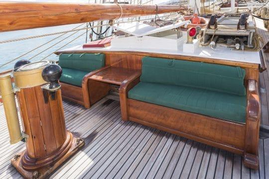 Eye of the Wind sun deck