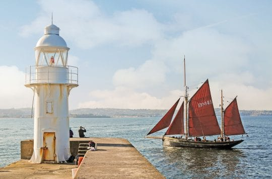 Pilgrim of Brixham - Steve McMillan. Sailing Holidays in Devon and Cornwall