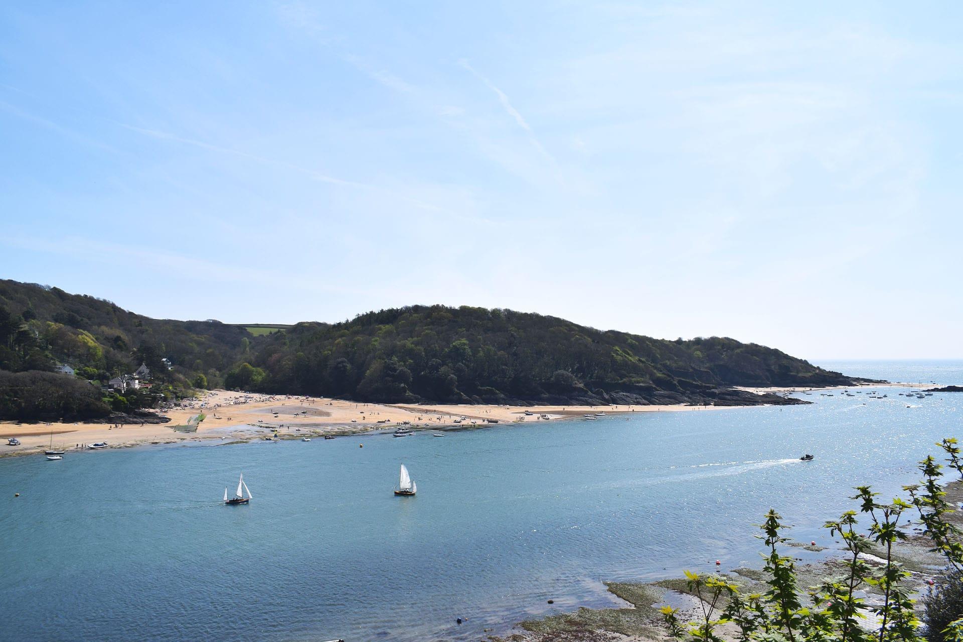 Devon Salcombe Beach