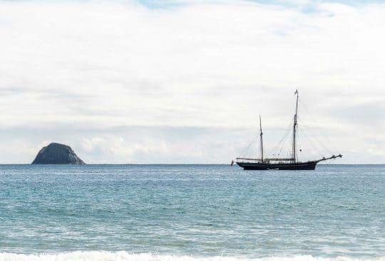 Bessie Ellen off the coast of St. Kilda