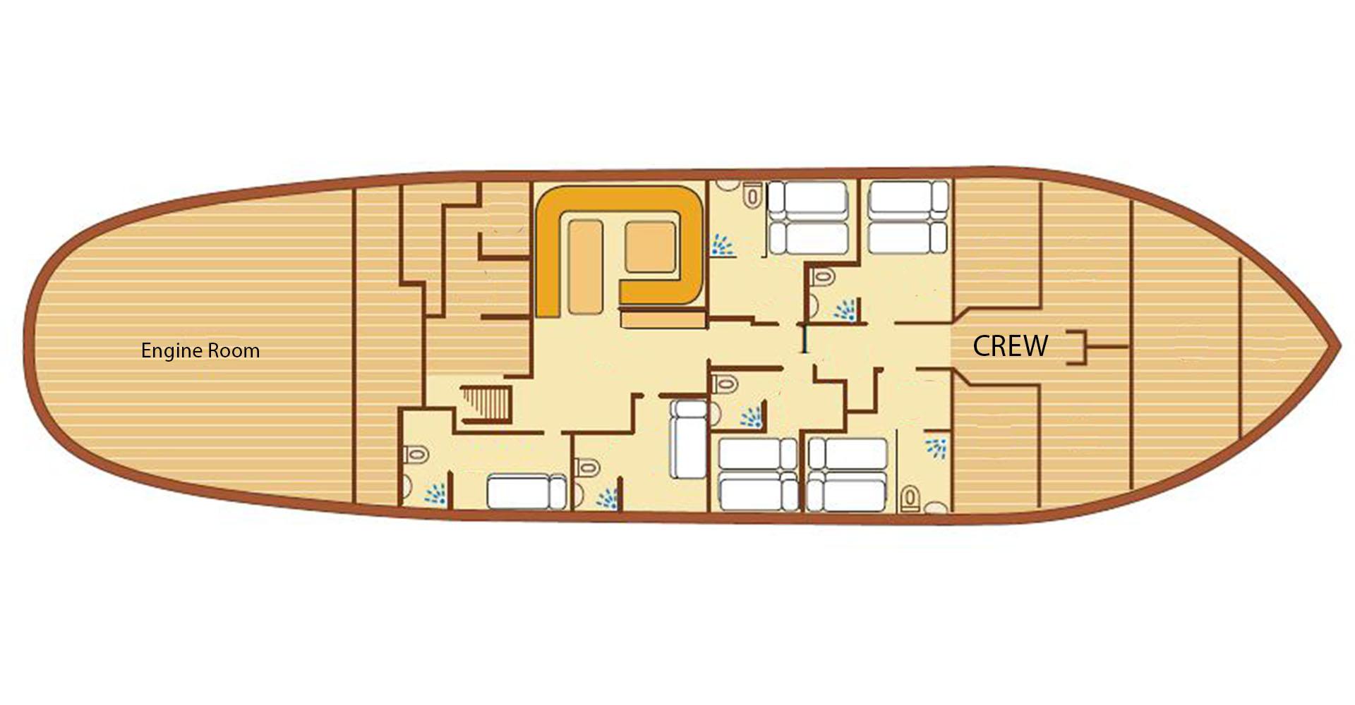 EOW deck plan