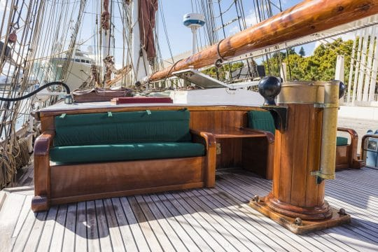 Eye of the Wind deck seating