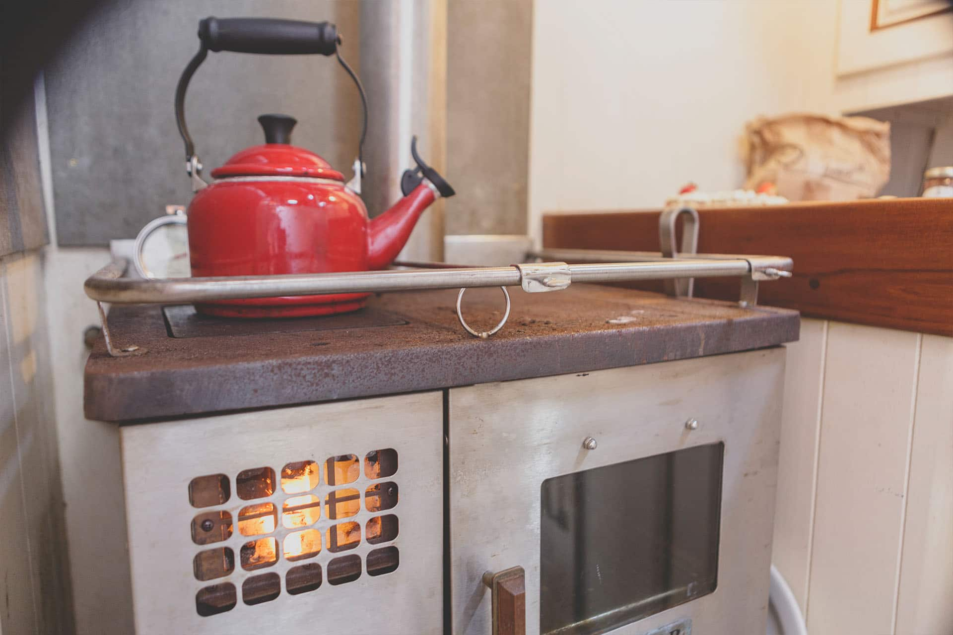ESCAPE galley stove
