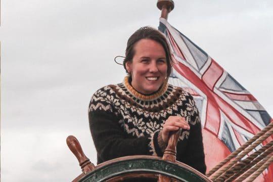 Eda Frandsen Captain Stella
