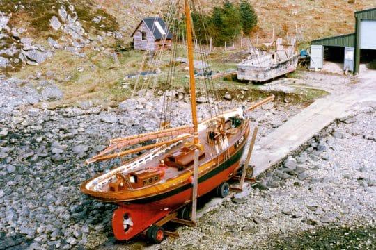 Eda Frandsen launch day 1996