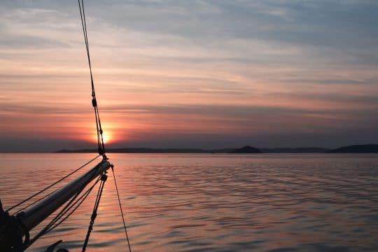 Escape sunset devon