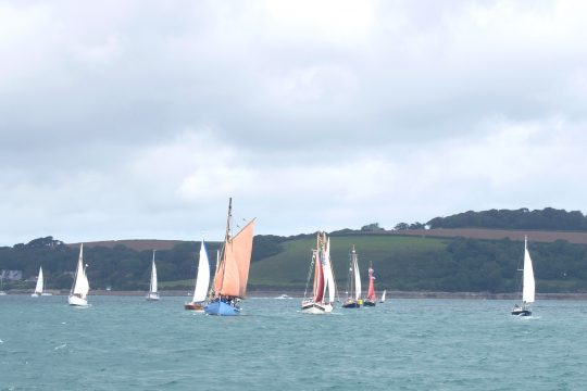Falmouth Classic parade of sail
