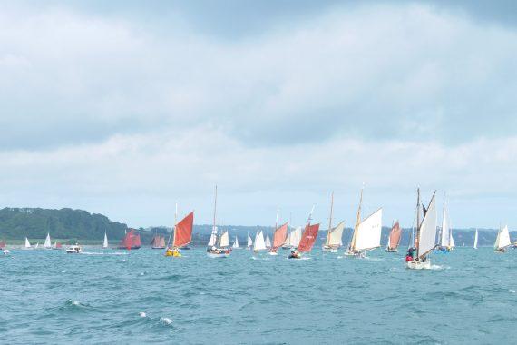 Falmouth Classics Parade of sail
