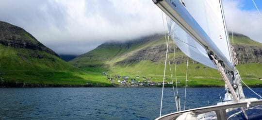 Faroe islands sailing holiday on Cherokee