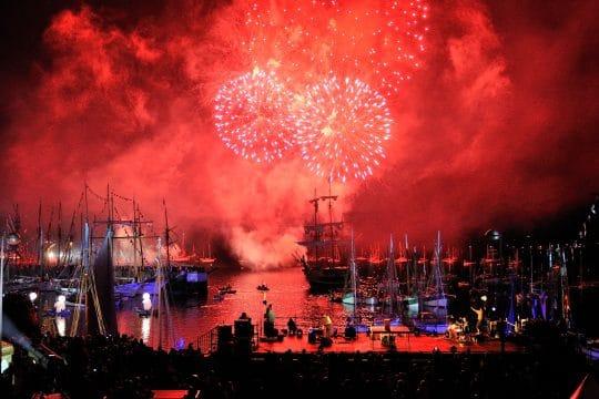 paimpol Festival fireworks