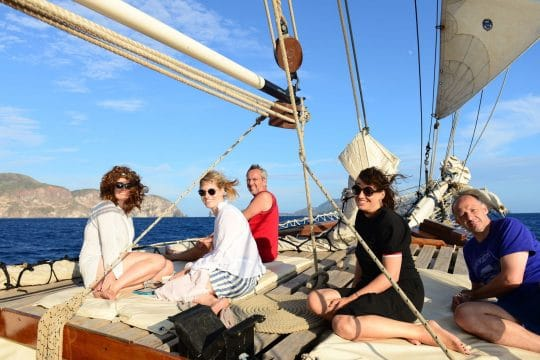Florette guests sailing