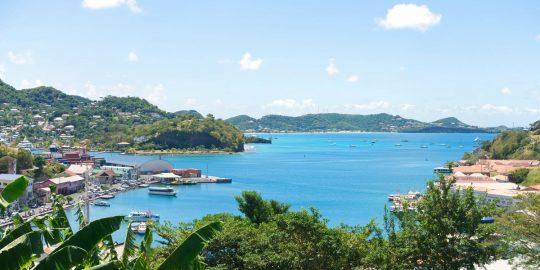 Sail Grenada-island-Saint-George's-harbor-Devils-bay