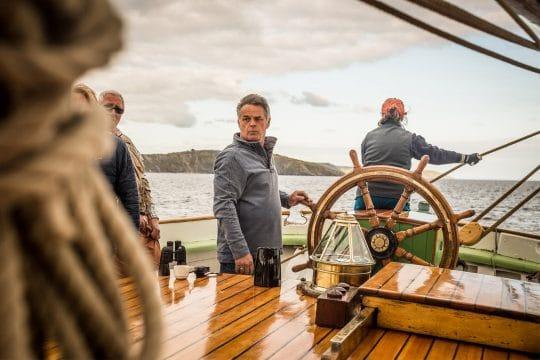 GUests sailing on bessie ellen