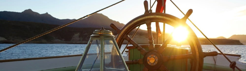 Helm at sunrise