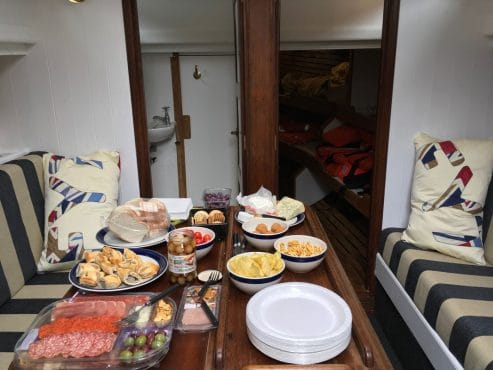 Our Daddy Cornish lugger galley
