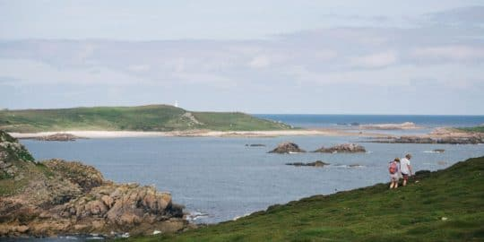 Walking holidays Scilly