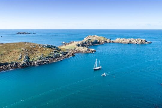 Isles of scilly Bryher channel