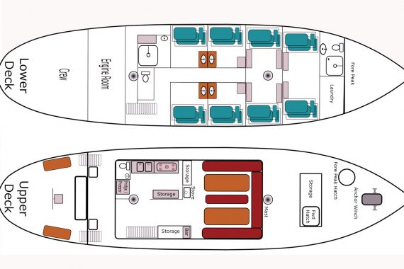 Lady of Avenel Deck Plan