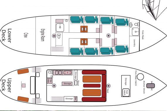 Lady of Avenel Deck Plan
