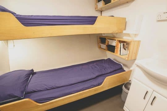 Lady of Avenel Twin bunks