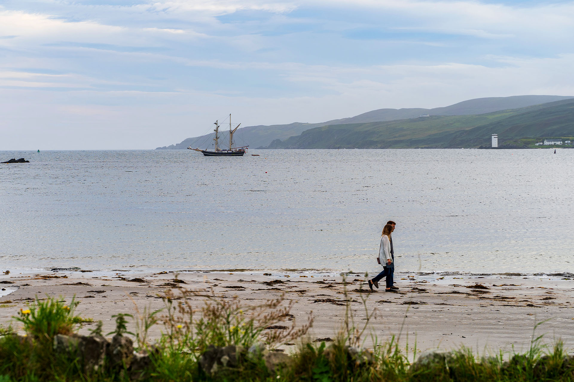 Lady of Avenel anchored in Scotland