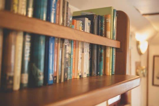 Lady of Avenel bookcase