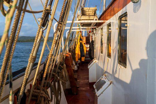 Lady of Avenel side deck
