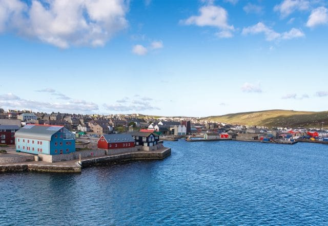 Sailing the Shetland Bus route from Norway to Scotland