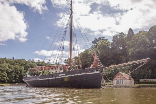 Lynher anchored