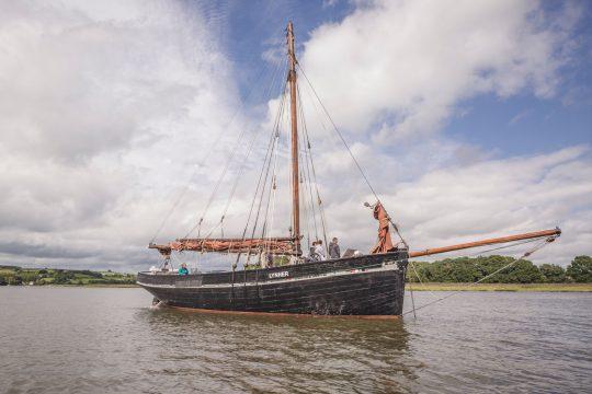 Lynher anchored tamar