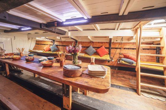 Lynher below decks