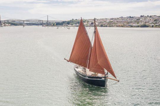 Lynher sailing Tamar